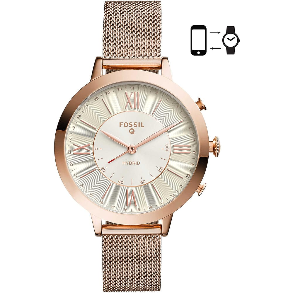comprare on line 3a394 f4dab OROLOGIO FOSSIL JACQUELINE HYBRID SMARTWATCH - FTW5018