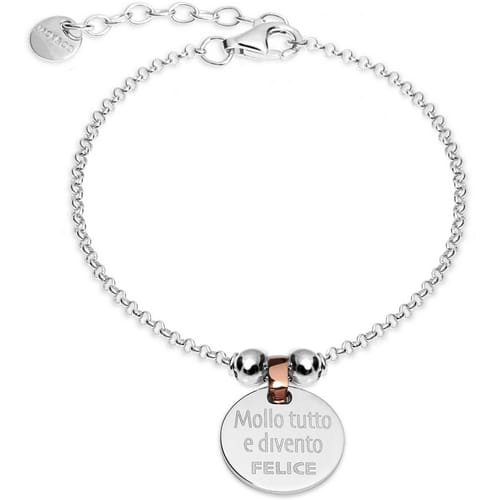 BRACCIALE JACK & CO MESSAGE - JC.JCB1238