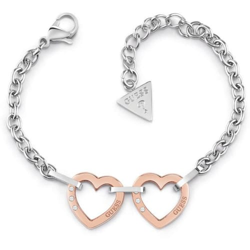 BRACCIALE GUESS HEARTED CHAIN - GU.UBB29073-S