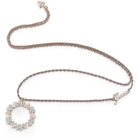 GUESS HEART BOUQUET NECKLACE - GU.UBN85049