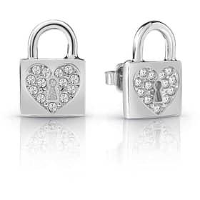 GUESS HEART LOCK EARRINGS - GU.UBE85053