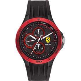 FERRARI PISTA WATCH - FER0830721