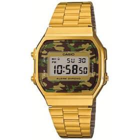 CASIO VINTAGE WATCH - A168WEGC-3EF