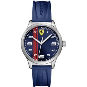 RELOJ SCUDERIA FERRARI PITLANE - 0810016