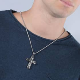 POLICE CATHEDRAL NECKLACE - PJ.25723PSS/01