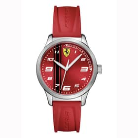 RELOJ SCUDERIA FERRARI PITLANE - 0810014