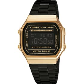 CASIO VINTAGE WATCH - A168WEGB-1BEF