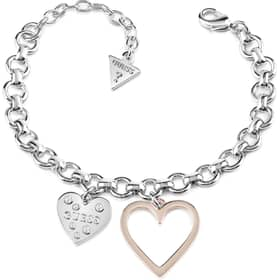 BRACCIALE GUESS HEART IN HEART - UBB84037-S