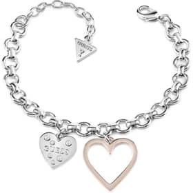 PULSERA GUESS HEART IN HEART - UBB84037-S