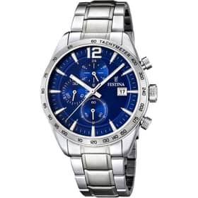 FESTINA TIMELESS CHRONOGRAPH WATCH - F16759-3