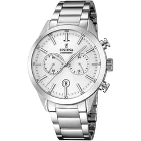 FESTINA TIMELESS CHRONOGRAPH WATCH - F16826-1