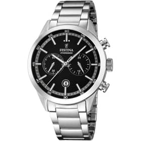 FESTINA TIMELESS CHRONOGRAPH WATCH - F16826-3
