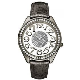 GUESS CLEARLY QUIZ WATCH - W13096L2