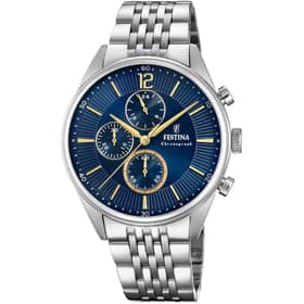 FESTINA TIMELESS CHRONOGRAPH WATCH - F20285/3