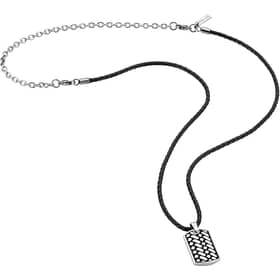 POLICE DOUBLE IMPACT NECKLACE - PJ.26179PLS/01