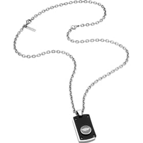 POLICE BUTTON UP NECKLACE - PJ.26195PSB/01