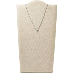 COLLANA FOSSIL STERLING SILVER - JFS00425040