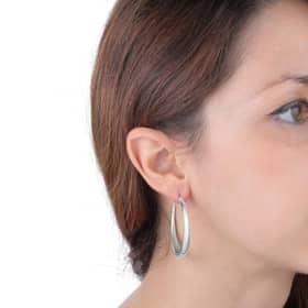 LA PETITE STORY HOOPS EARRINGS - LPS01AQB16