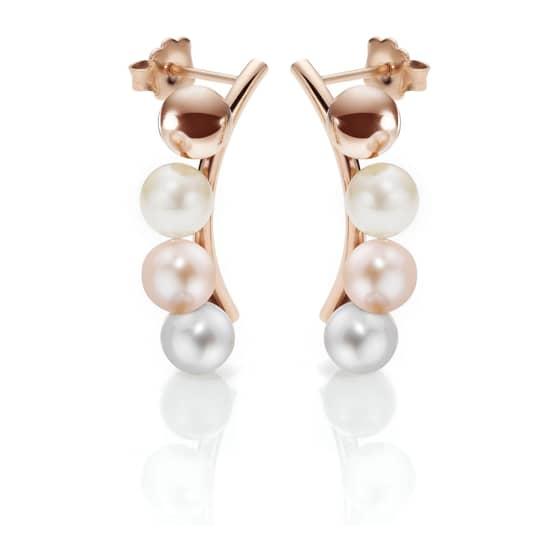 materiali di alta qualità scarpe da ginnastica chiaro e distintivo Orecchini Morellato con perle e diamanti - Bluespirit