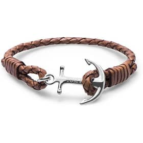 TOM HOPE TOM HOPE COLLEZIONE LEATHER BRACELET - TM0222