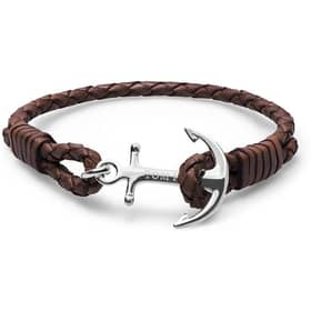 TOM HOPE TOM HOPE COLLEZIONE LEATHER BRACELET - TM0211