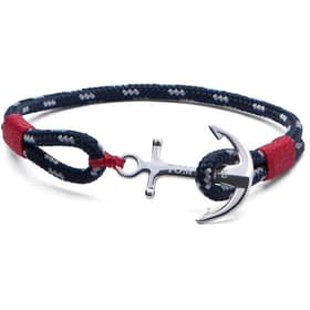 BRACELET TOM HOPE ATLANTIC RED - TM0042