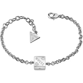PULSERA GUESS ROLLING DICE - UBB83033-S