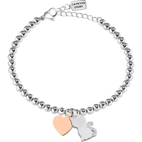 PULSERA LA PETITE STORY DOG & KITTY - LPS05AQI09