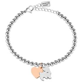 Bracciale La Petite Story Dog & kitty - LPS05AQI05
