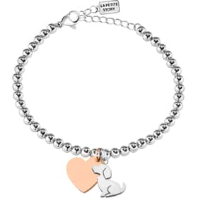 LA PETITE STORY DOG & KITTY BRACELET - LPS05AQI02