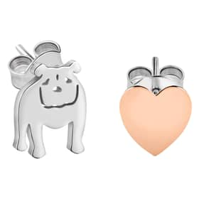 LA PETITE STORY DOG & KITTY EARRINGS - LPS01AQI01