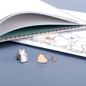LA PETITE STORY DOG & KITTY EARRINGS - LPS01AQI02
