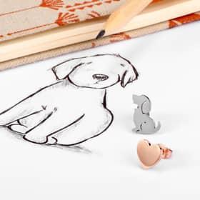 BOUCLES D'OREILLES LA PETITE STORY DOG & KITTY - LPS01AQI03