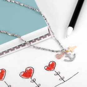 LA PETITE STORY CHARMS STORY NECKLACE - LPS10AQA08