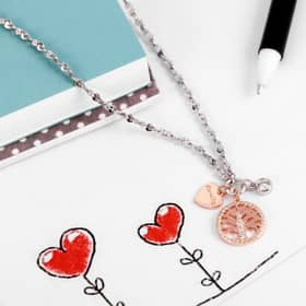 LA PETITE STORY CHARMS STORY NECKLACE - LPS10AQA10