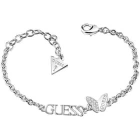 PULSERA GUESS MARIPOSA B-GUESS & BUTTERFLY - GU.UBB83014-S