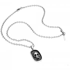 POLICE TOMBSTONE NECKLACE - PJ.25569PSS/01