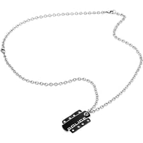 POLICE BADGE NECKLACE - S14LQ01P