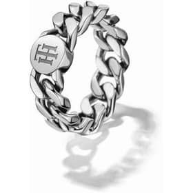 TOMMY HILFIGER CHAIN RING - THJ2700966C