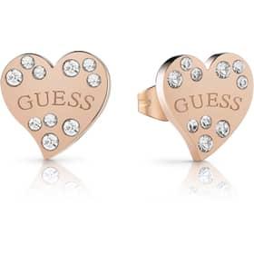 GUESS HEART WARMING EARRINGS - GU.UBE78053