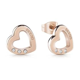 PENDIENTES GUESS HEARTED CHAIN - GU.UBE29060