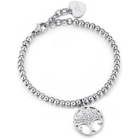 LUCA BARRA BRILLIANT TIME BRACELET - LU.BK1851