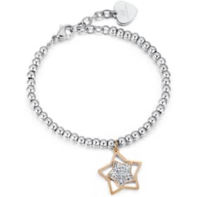 LUCA BARRA BRILLIANT TIME BRACELET - LU.BK1849