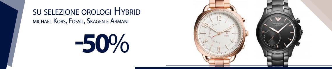 -50% su selezione orologi Hybrid